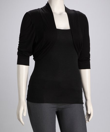 Black Jax Shrug - Plus