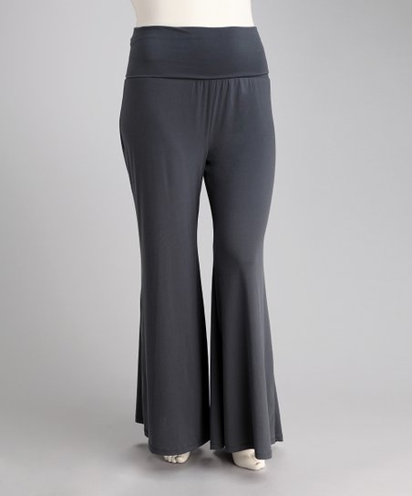 Gray Premo Pants - Plus