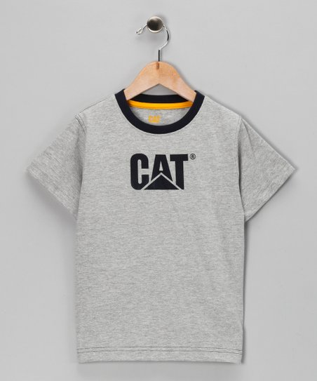 Heather Gray Logo Tee - Toddler & Kids