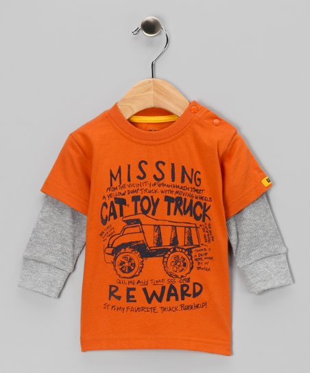 Canyon 'Missing CAT' Layered Tee - Infant