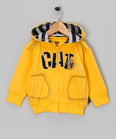 Banana Split Shift Zip-Up Hoodie - Toddler