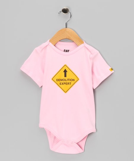 Pink 'Demolition Expert' Bodysuit - Infant