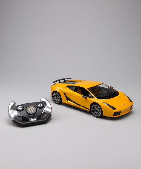 Yellow Lamborghini Superleggera Remote Control Car