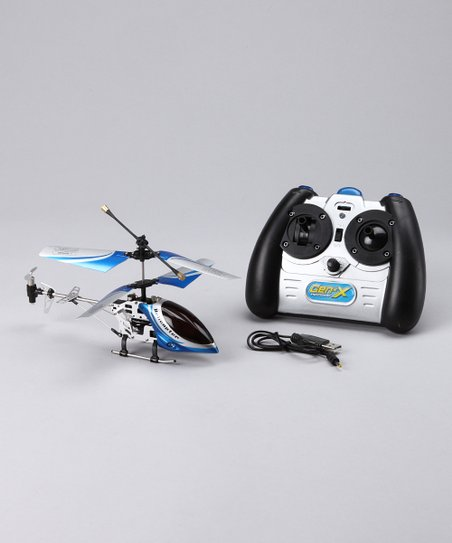 Blue Gen-X Infrared Remote Control Helicopter