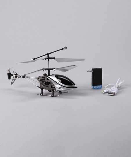 Silver Helicopter for iPhone