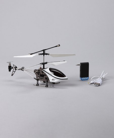 White Helicopter for iPhone