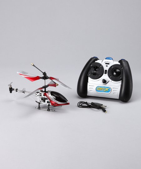 Red Gen-X Infrared Remote Control Helicopter