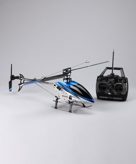 Blue DH9104 Remote Control Helicopter