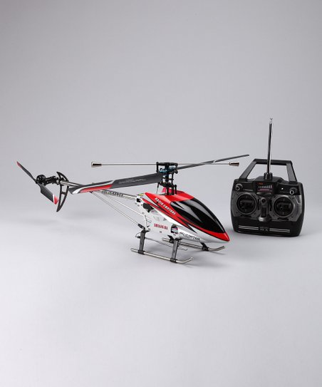 Red DH9104 Remote Control Helicopter