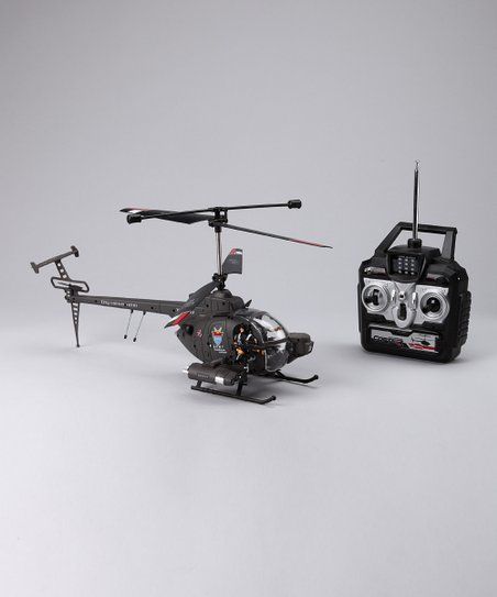 Green Huges Remote Control Combat Helicopter