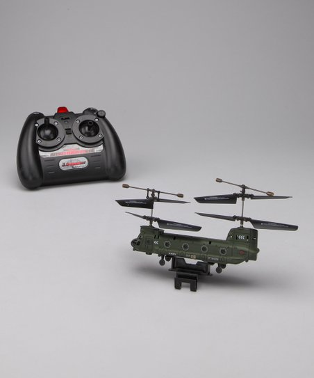 Green Chinook Remote Control Helicopter