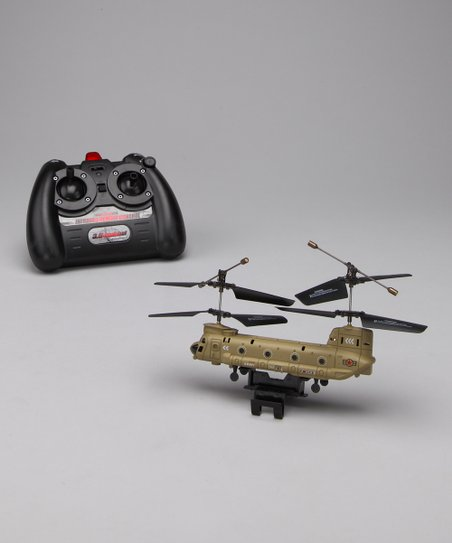 Yellow Chinook Remote Control Helicopter