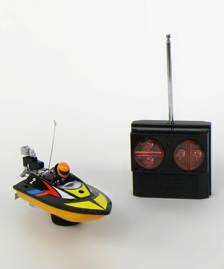 Black Micro Speed Boat