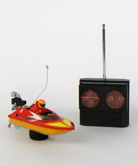 Red Micro Speed Boat