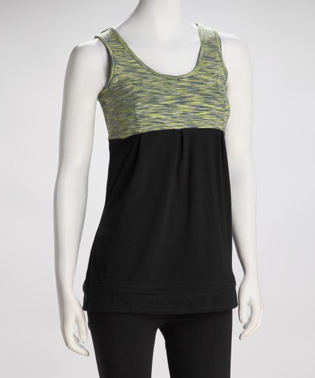 Black &amp; Lemon Tank