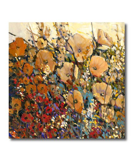 Bright & Bold Flowers Canvas Wall Art