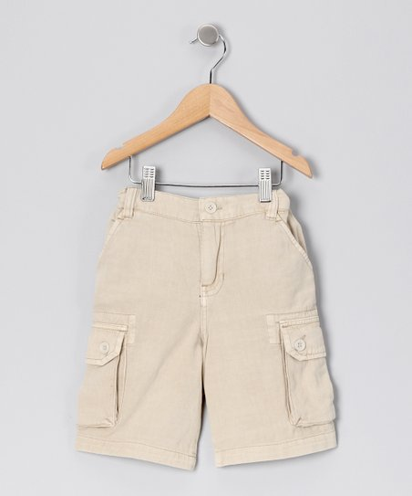Khaki Cargo Shorts - Toddler &amp; Boys