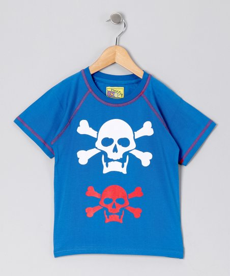 Navy Skull Tee - Toddler & Boys