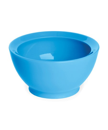 Light Blue 8-Oz. No-Spill Smart Lip Bowl - Set of Four
