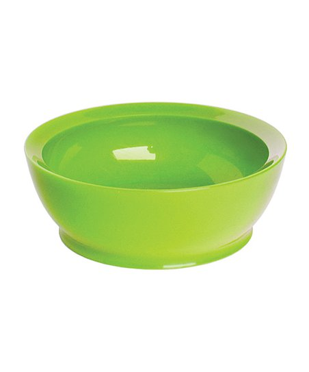 Green 12-Oz. No-Spill Smart Lip Bowl - Set of Four