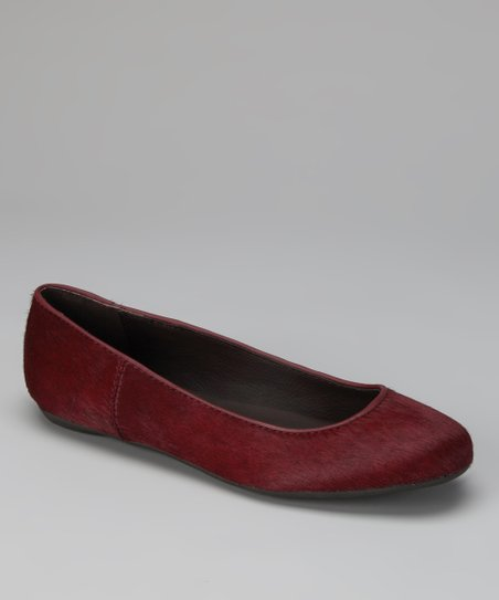 Berry Haircalf Bailey Ballet Flat