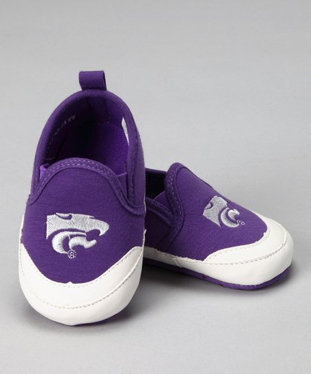 Purple Kansas State Shoe - Kids