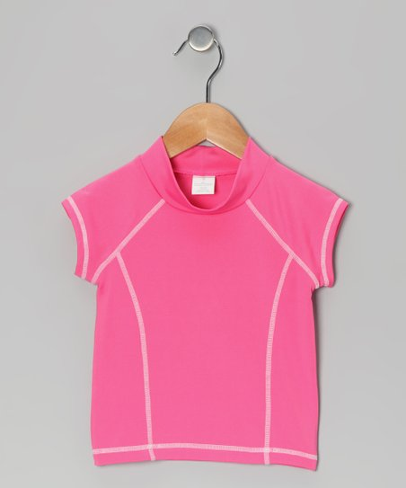 Pink Rashguard - Girls