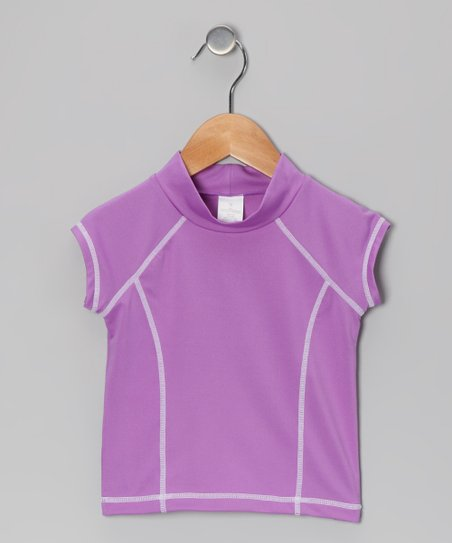 Purple Rashguard - Toddler & Girls