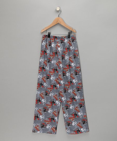 Gray BMX Pajama Pants - Boys