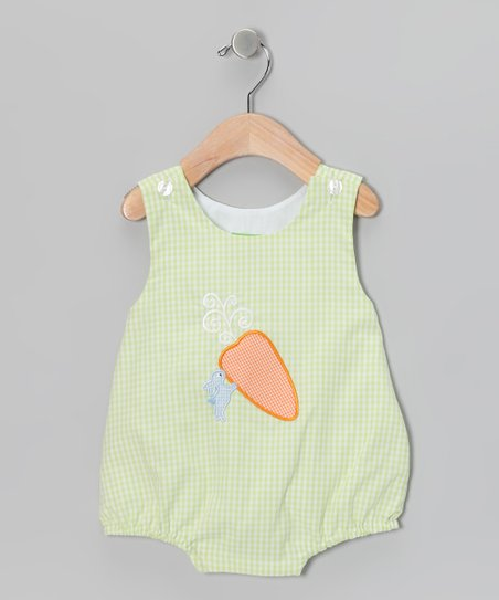 Green Carrot Bubble Bodysuit - Infant