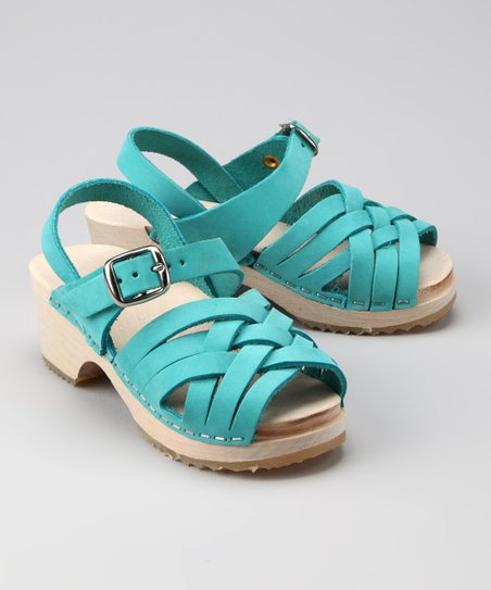 Turquoise Bambi Sandal