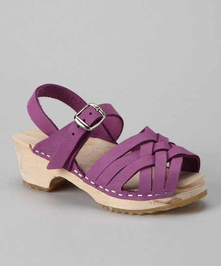 Purple Bambi Sandal - Kids