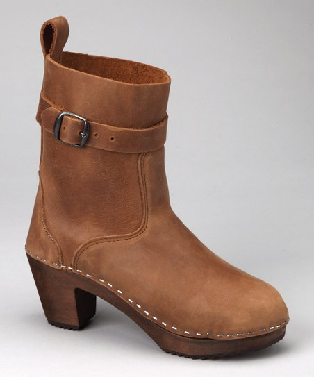 Tan Clog Boot - Women