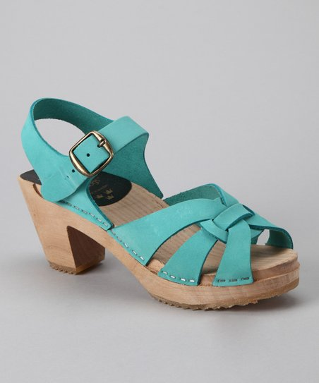 Turquoise Cocktail Sandal - Women