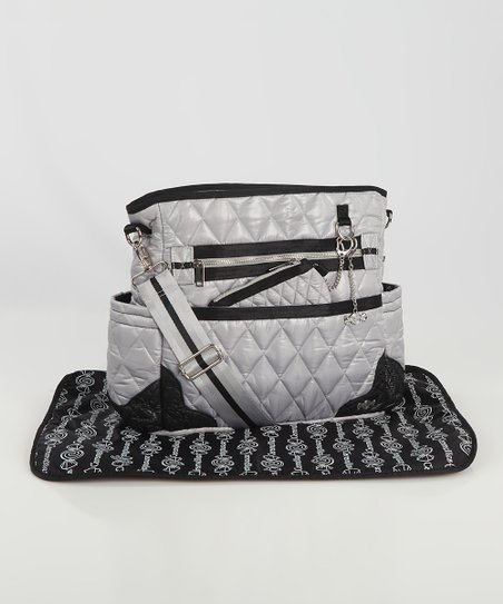 Caramellles Gray The Truffle Diaper Bag