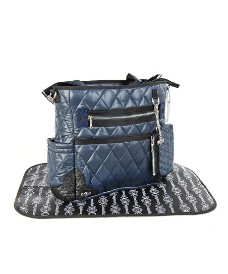 Caramellles Navy The Truffle Diaper Bag