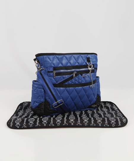 Caramellles Royal Blue The Truffle Diaper Bag