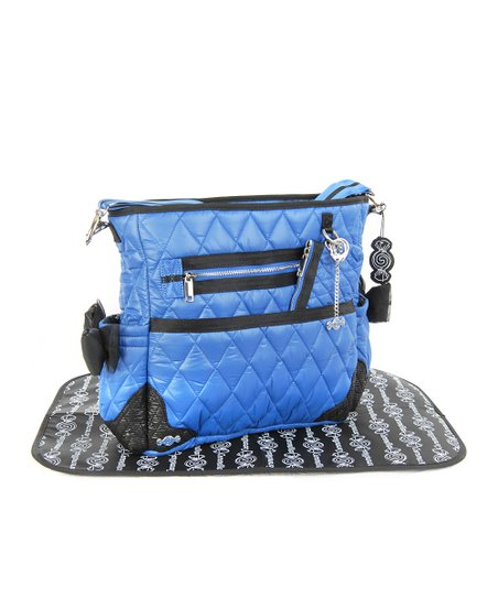 Caramellles Royal Blue The Truffle Bow Diaper Bag