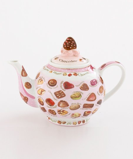 Chocolate 48-Oz. Teapot