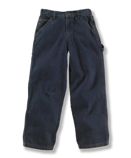 Vintage Wash Dungaree Jeans - Toddler & Boys