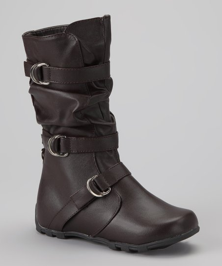 Brown Slouch Boot