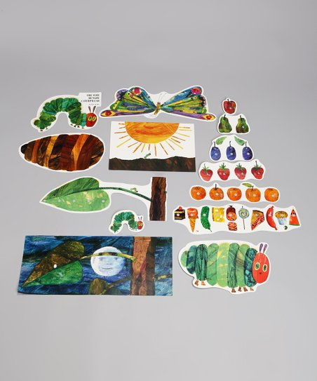 The Very Hungry Caterpillar Wall Decoration Set