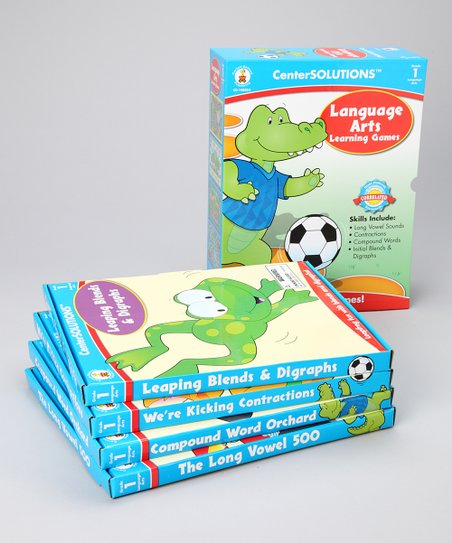 Language Arts Learning Games Grade One