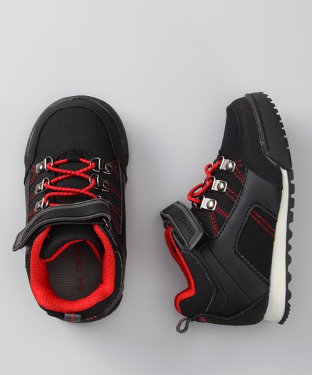 Black & Red Gravity Sneaker