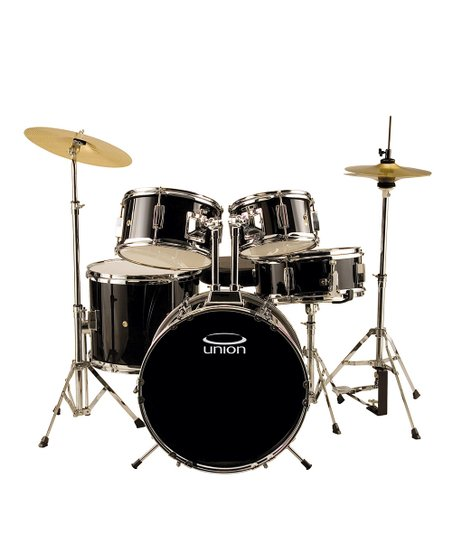 Union Black UJ5 Junior Drum Kit