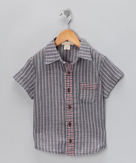 Blue Magic Button-Up Shirt