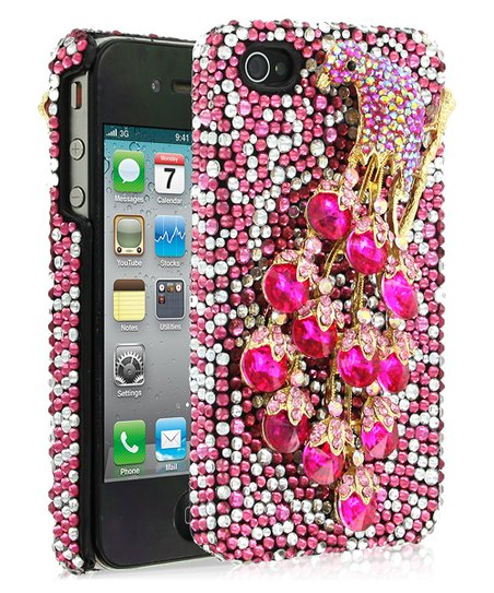 Peacock Pink DeBari Case for iPhone 4/4S