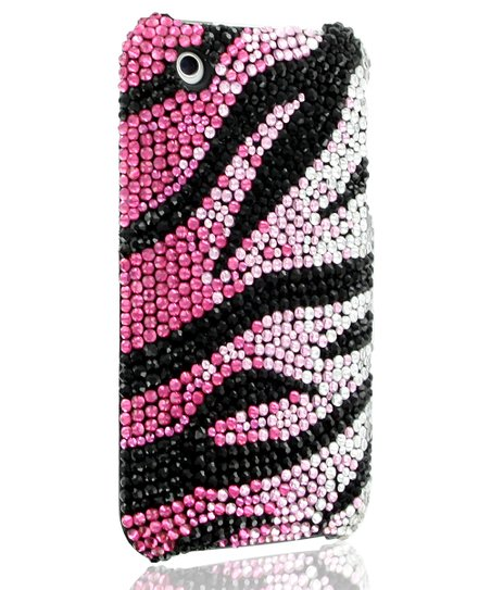 Rose Zebra Case for iPhone 3G/3GS
