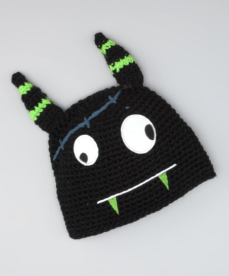 Black Gizmo Monster Beanie