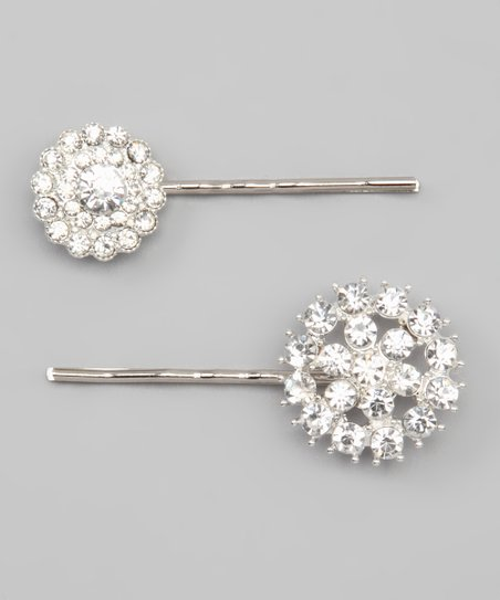 Couture Rhinestone Bobby Pin Set